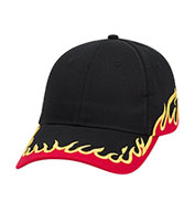 Custom Flame, Low Profile Racing Team Cap