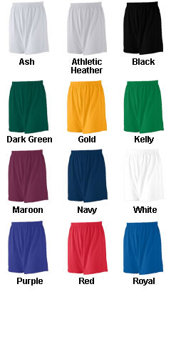 Adult Jersey Knit Custom Logo Short  - All Colors