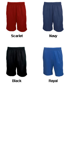 Adult Pocketed Micro Mesh Short - All Colors