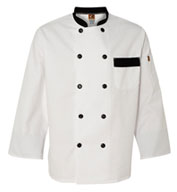 Custom Chef Designs Garnish Chef Coat