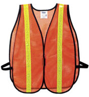 Custom Mesh Reflective Safety Vest