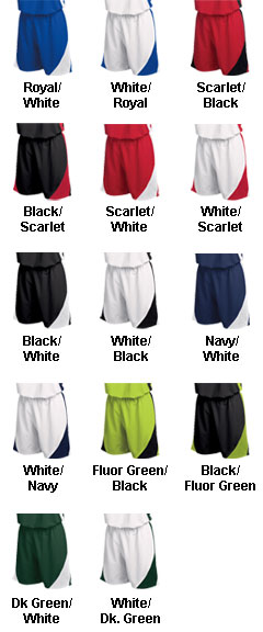 Womens Deluxe Tsunami Wraparound Shorts - All Colors