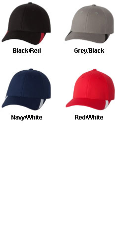 Yupoong Low Profile V FlexFit Cap w/Sweep Profile - All Colors